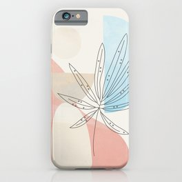 Leaf Design 03 iPhone Case