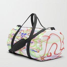 Wallpaper Particles Duffle Bag