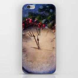 Frozen time winter wonderland iPhone Skin