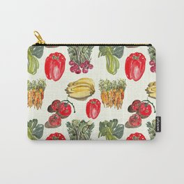 Fruit and veg health food pattern design 2 Carry-All Pouch