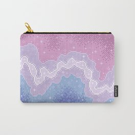 Bigender Pride Flag Galaxy Carry-All Pouch