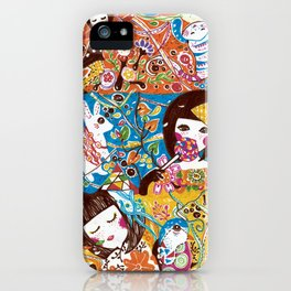 Colorful days iPhone Case
