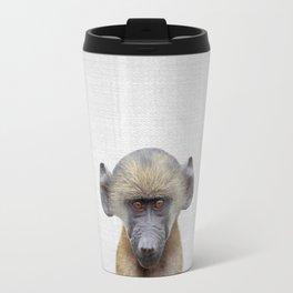 Baby Baboon - Colorful Travel Mug