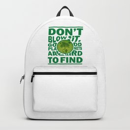 Save Our Planet Backpack