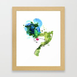 bloomy April Framed Art Print