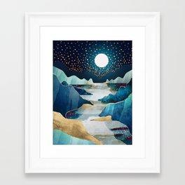 Moon Glow Framed Art Print