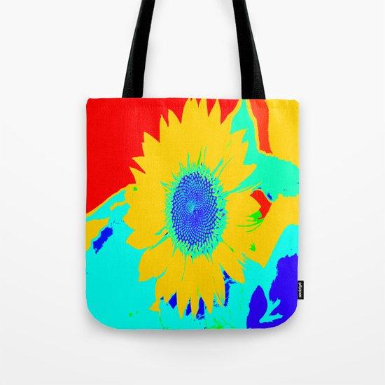 Fun Sunflower Tote Bag