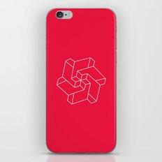 Minimal /  Chakra Symbol Art / Optical Illusion Star iPhone & iPod Skin