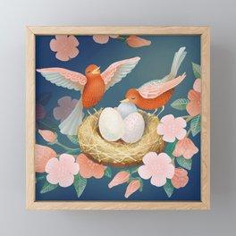 Sing of Spring Framed Mini Art Print