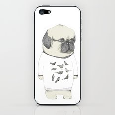 kinotto pug iPhone & iPod Skin