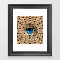 infinite gaze Framed Art Print