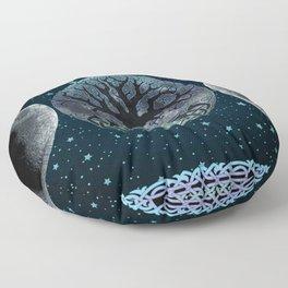 Esoteric Tripple Moon Floor Pillow