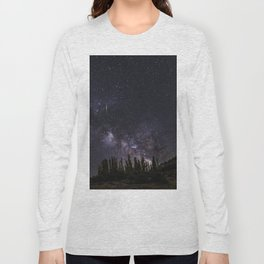 """Meteorite at the mountains"" Long Sleeve T-shirt"