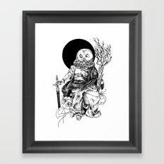 Branch Of Awe Framed Art Print