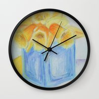 easter Wall Clocks featuring Easter by EVB.