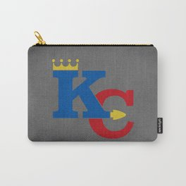 Kansas City Sports Red & Dark Blue Carry-All Pouch