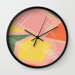 Pieced Together Wall Clock