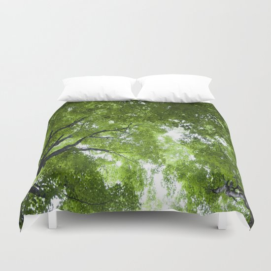 Leaves and Lace Duvet Cover