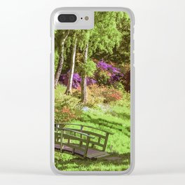 My Secret Garden Clear iPhone Case