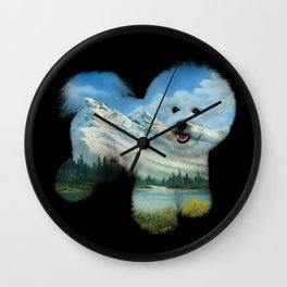 Dog Ross Wall Clock