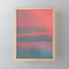 smooth Framed Mini Art Print
