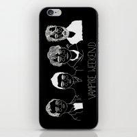 vampire weekend iPhone & iPod Skins featuring Vampire Weekend (Inverted) by ☿ cactei ☿