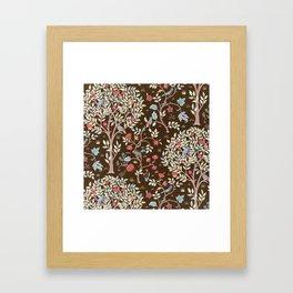 "William Morris ""Kelmscott Tree"" 3. Framed Art Print"