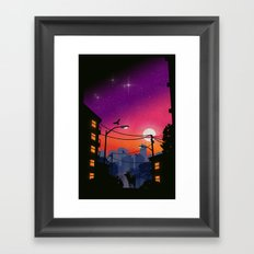 Atmosphere Framed Art Print