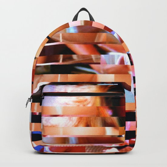 Dinner Party Glitch 1 Backpack