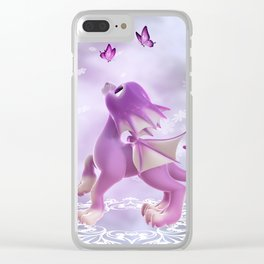 Little Dragon 2 Clear iPhone Case