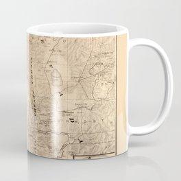 Map Of Lake Tahoe 1874 Coffee Mug