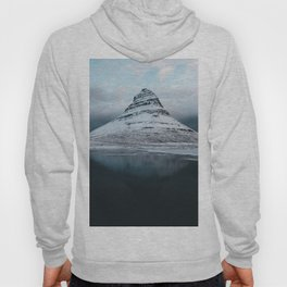 Iceland Mountain Reflection - Landscape Photography Hoody