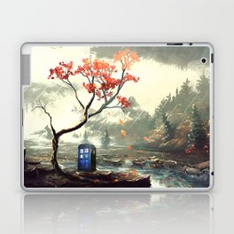 Tardis Stay With A Tree Laptop & iPad Skin