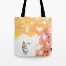 Autumn Drifting Tote Bag