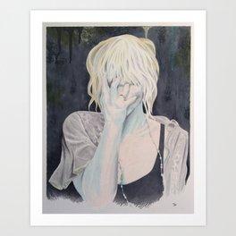 """Take Everything"" (Courtney Love) Art Print"