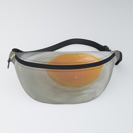 Funny Throwing Egg Portrait Fanny Pack