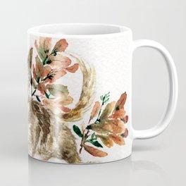 watercolor Taiwan Dog - Tabby Coffee Mug