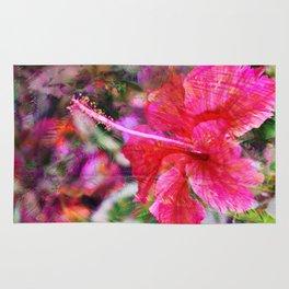 Hibiscus Winds Rug