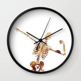 Mr Universe Wall Clock