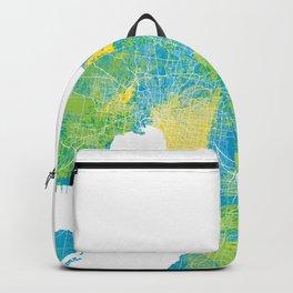 Melbourne Map Backpack