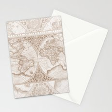 Terra in Tan Stationery Cards
