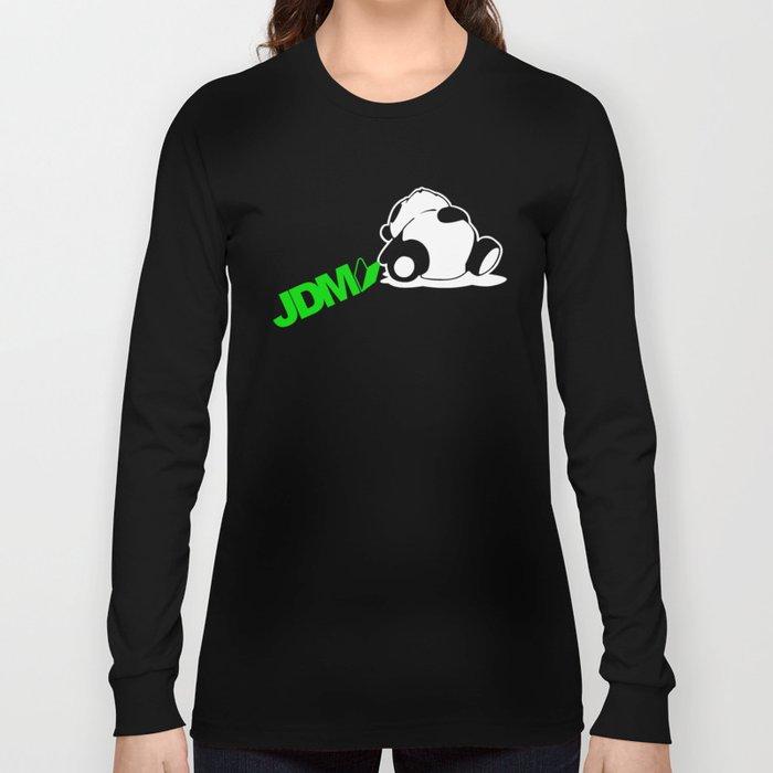 Sleepy Panda JDM Long Sleeve T-shirt