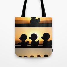 Ducks Ducks Ducks! Tote Bag