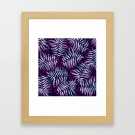 Luscious Midnight Framed Art Print