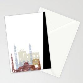 Muscat skyline poster Stationery Cards