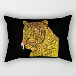 Tiger White Tiger Tiger Baby Tiger Cub Rectangular Pillow