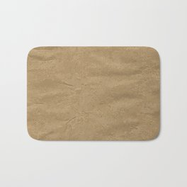 Brown Wrapping Paper Background Bath Mat