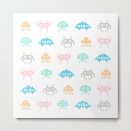 Invaders Metal Print