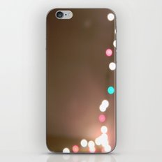Christmas Lights. iPhone & iPod Skin