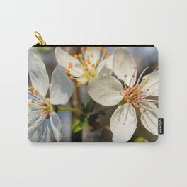 Flowering Plum Carry-All Pouch